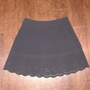 LOFT Scalloped Circle Skirt